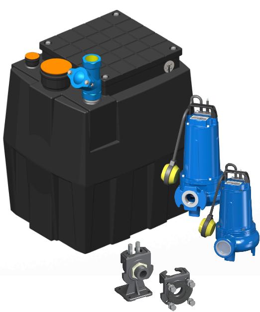 AF Pumps Pratika 200 – Hebeanlage