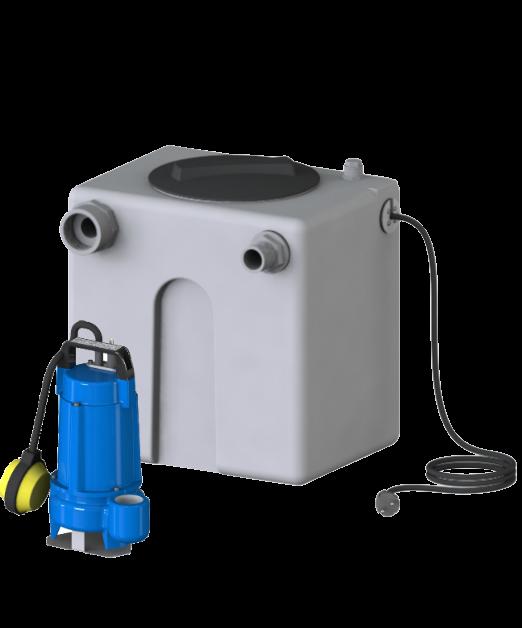 AF Pumps Pratika 50 – Hebeanlage