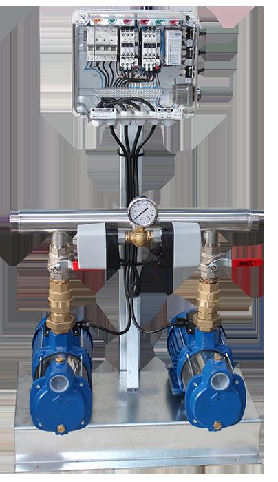 Oliju Kompakt- Drucksteigerungsanlagen