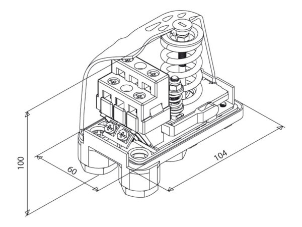 Druckschalter PM5 (1-5bar)
