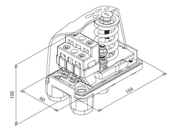Druckschalter PM12 (3-12bar)